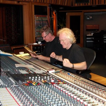 JR and RCP at The Village Recorders Studio D, L.A. - February 2011