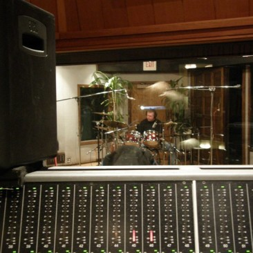 JR tracking at The Village Recorder - Studio D