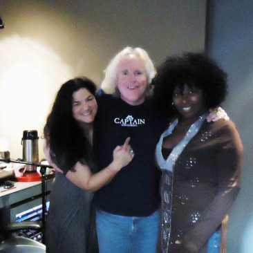 Kelly, RCP and Amy at Old Firehouse Recording Studios, Pasadena, CA - July 2011 — with Amy Keys2