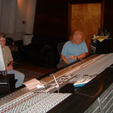Recording Drum Tracks with Woody Woodruff @ Track Record Studios, North Hollywood - August 2006