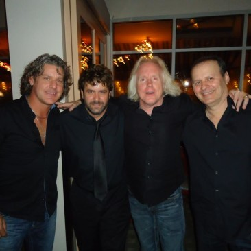 Robbie Wyckoff - Larry Antonino - RCP - Danny Jacob at Cafe Cordiale